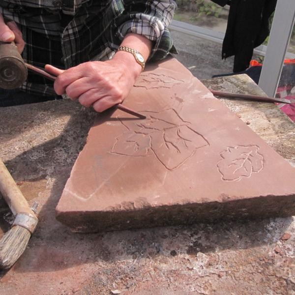 Come try your hand at Stone Carving!30/8/15