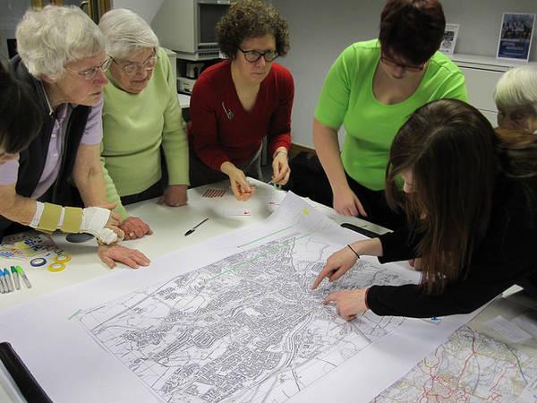 Exploring Women's Hidden History with Glasgow Women's Library, Waterside, Kirkintilloch