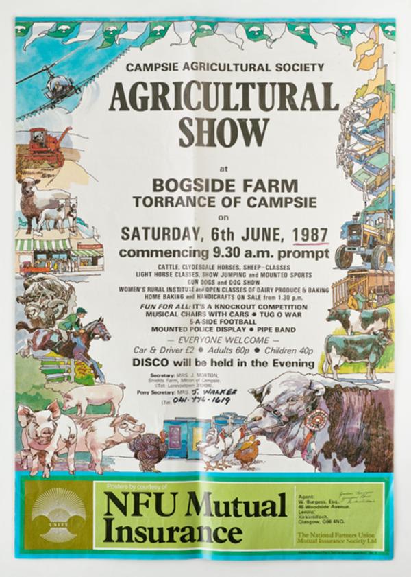 Campsie Show poster