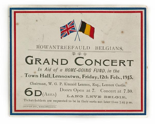 Rowantreefauld Belgians concert
