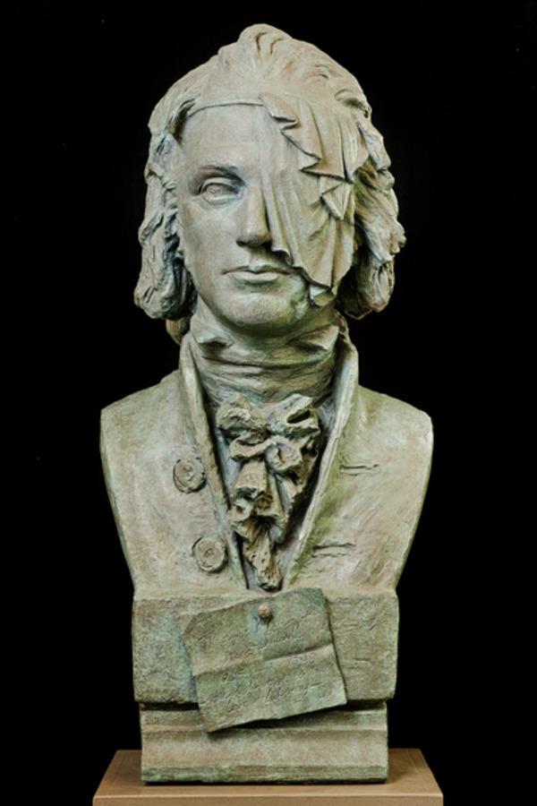 Portrait bust of Thomas Muir