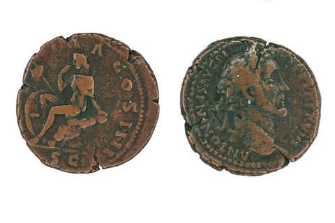 Copper Coin of Antoninus Pius