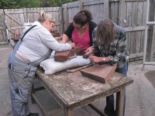 Stone Carving Taster sessions!