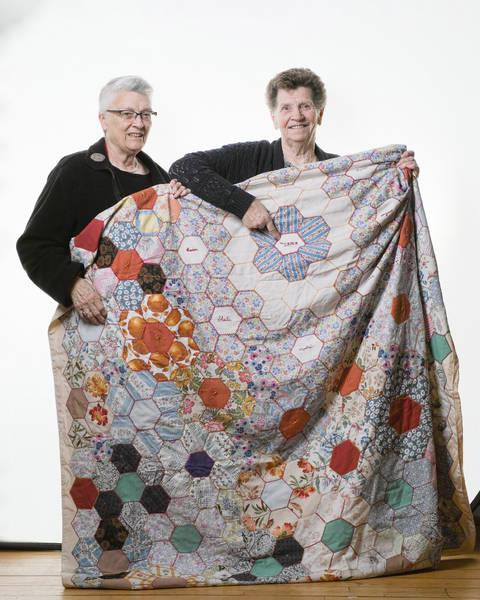 Hand made Quilt, Torrance - Clara Gillespie