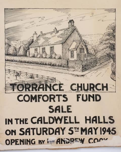 Torrance Church Comfort Funds Poster