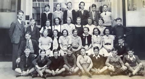 Lennoxtown primary school 1938