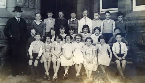 Lennoxtown primary school 1931